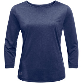 Jack Wolfskin JWP T-Shirt Damen lapiz blue